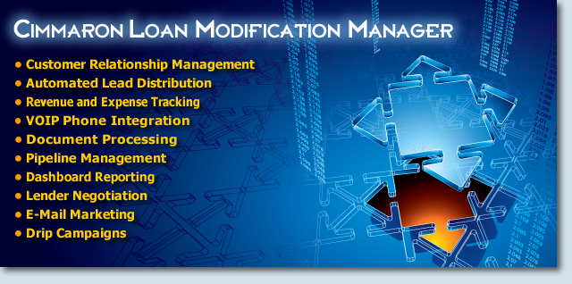 Loan Modification Manager - Loan Modification Software CRM